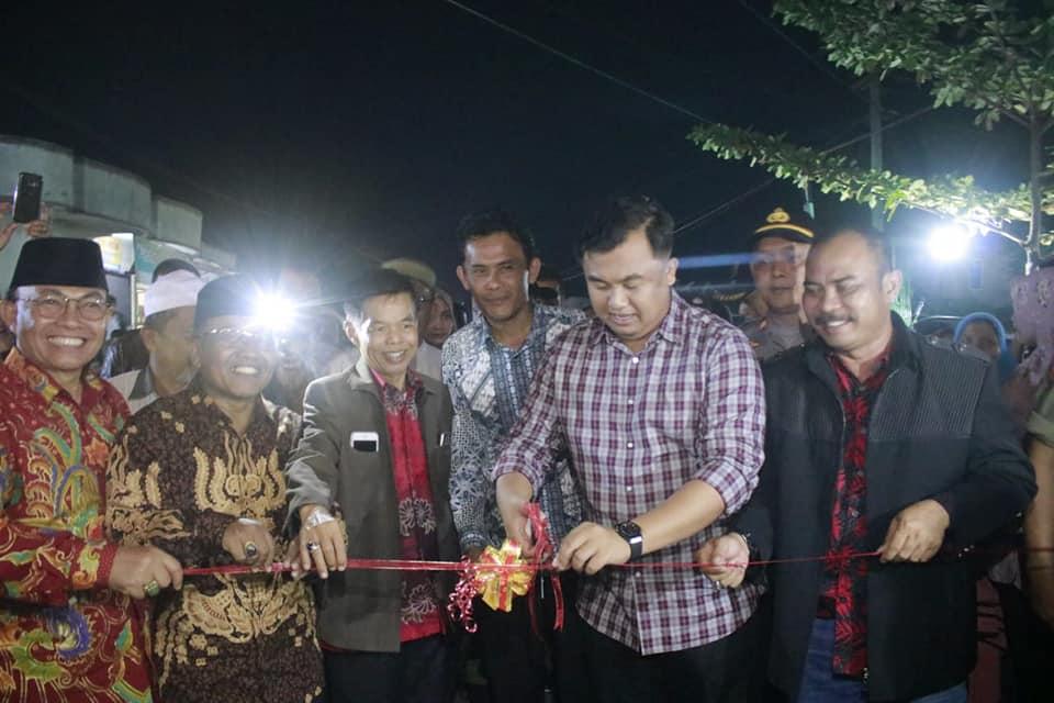 Semarak Ulang Tahun Nagari Sungai Duo yang ke 10 bersamaan dengan peresmian Java Street Food Nagari Sungai Duo