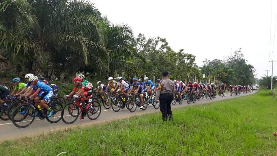 Tour De Singkarak melewati Nagari Sungai Duo