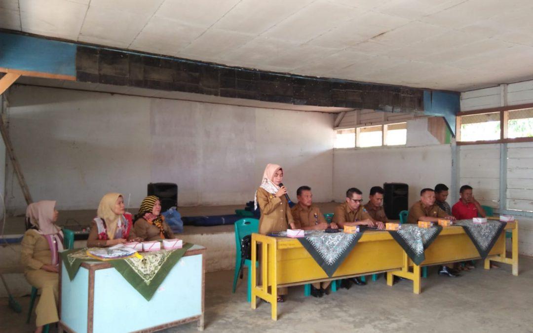 Kegiatan BLK Kabupaten Dharmasraya melalui MTU ( Mobile Training Unit)