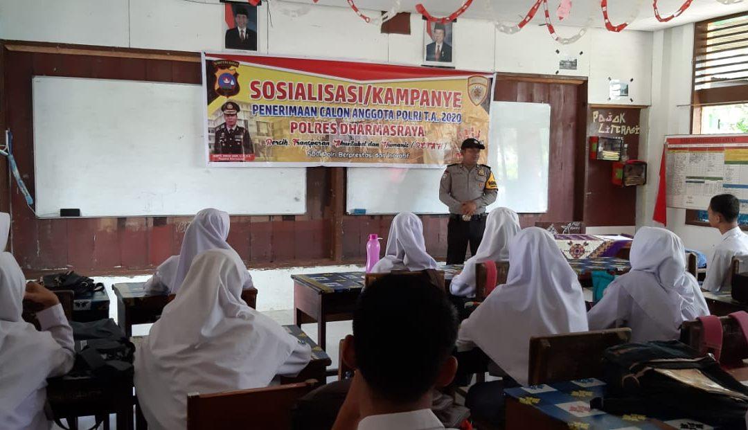 Sosialisasi Rekruitmen Anggota POLRI tahun 2020 dan Rekruitmen CPNS tahun 2019