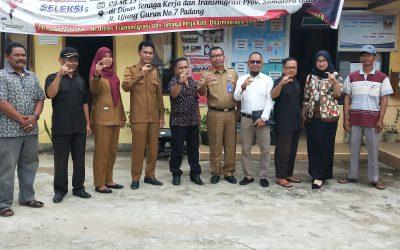 Komisi Informasi SUMBAR megunjungi PPID pembantu Nagari Sungai Duo