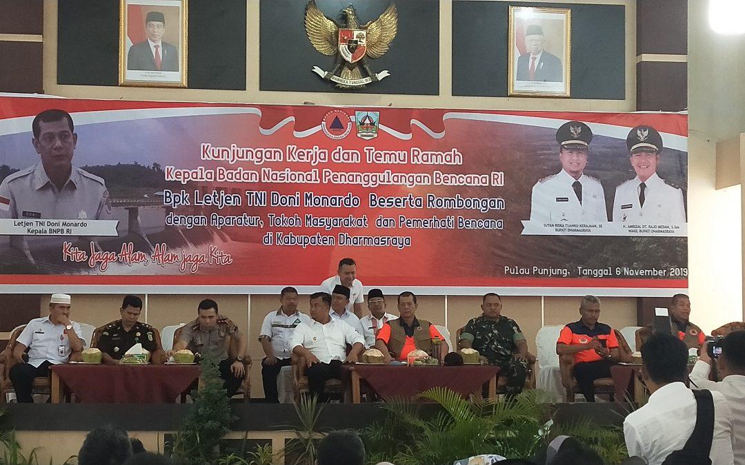 Kunjungan Kerja dan Temu Ramah Kepala Badan Nasional Penanggulangan Bencana RI